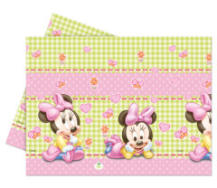 Baby Minnie - Plastic Tablecover 120x180cm