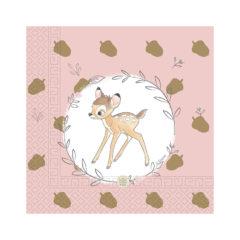 Bambi Cutie - Three-Ply Paper Napkins 33x33cm - 89900