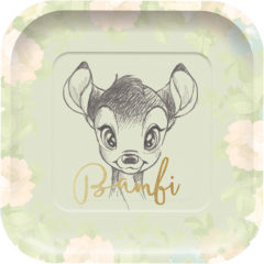 Bambi Cutie - Paper Plates Shaped - 89039