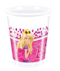 Barbie Magic - Plastic Cups 200ml