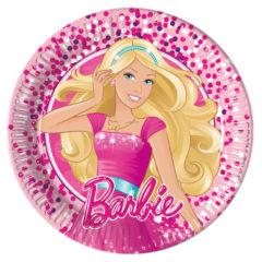 Barbie Magic - Paper Plates Medium 20cm