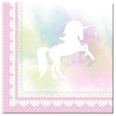 Believe In Unicorns - Two-ply Paper Napkins 33x33cm