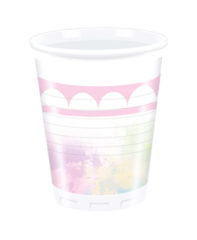 Believe In Unicorns - Plastic Cups 200ml