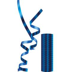 Streamers - Metallic Blue Streamers - 89182