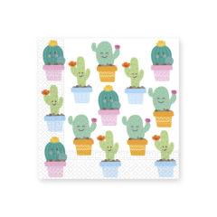 Cactus - Two-ply Paper Napkins 33x33cm - 89293