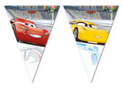 Cars 3 - Triangle Flag Banner (9 Flags) - 87805