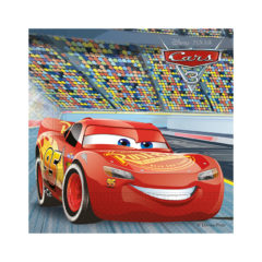 Cars 3 - Two-ply Paper Napkins 33x33cm - 87799