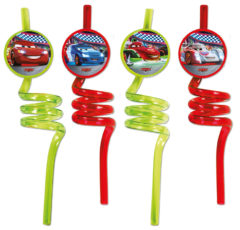 Cars The Legend of the Track - Crazy Straws - 84079
