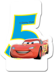 Cars 3 - Candle No 5 - 82889
