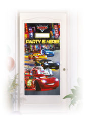 Cars The Legend of the Track - Personalized Door Banner - 82635