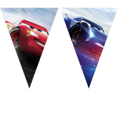 Cars The Legend of the Track - Triangle Flag Banner (9 Flags) - 89469