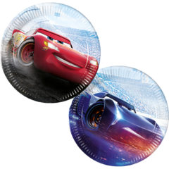 Cars The Legend of the Track - Paper Plates Large 23cm (mixed in packet) - 89464