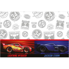 Cars The Legend of the Track - Plastic Tablecover 120x180cm - 89468