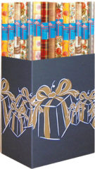 Gift Wrapping Paper - Gift Wrapping Paper In Consumer Rolls 70cm X 2m - 6884