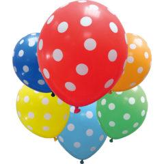 """Latex Balloons - """"Dots"""" Balloons - 88885"""