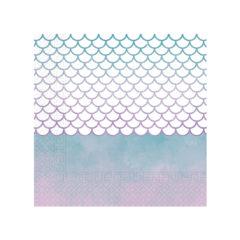 Elegant Mermaid - Two - Ply Paper Napkins 33 x 33 cm - 90548