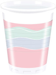 Elegant Party - Plastic Cups 200ml