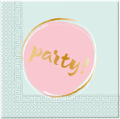 Elegant Party - Two-ply Paper Napkins 33x33cm