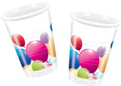 Flying Balloons - Plastic Cups 200ml