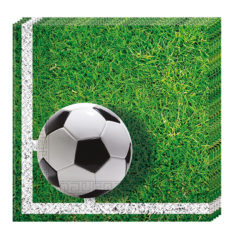 Football Party - Two-ply Paper Napkins 33x33cm - 86869