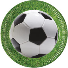 Football Party - Paper Plates Large 23cm - 86868
