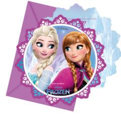 Frozen Northern Lights - Die-cut Invitations & Envelopes