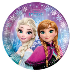 Frozen Northern Lights - Paper Plates Large 23cm - 86755