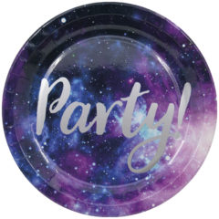 Galaxy Party - Paper Plates Large 23 cm - 90452