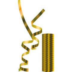 Streamers - Metallic Gold Streamers - 89183