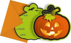 Happy Spooky Halloween - Invitations & Envelopes