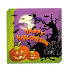 Happy Spooky Halloween - Two-ply Paper Napkins 33x33cm