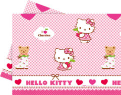 Hello Kitty Hearts - Plastic Tablecover 120x180cm - 81795