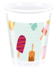 Ice Cream Passion - Plastic Cups 200ml
