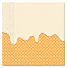 Ice Cream Passion - Two-ply Paper Napkins 33x33cm