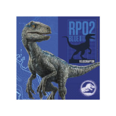 Decorata Party - Jurassic Park - Two-Ply Paper Napkins 33x33cm - 87211