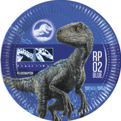 Decorata Party - Jurassic Park - Paper Plates Large 23cm - 87209
