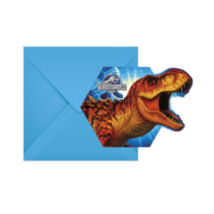Decorata Party - Jurassic Park - Die-Cut Invitations & Envelopes - 87214