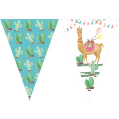 Llama - Triangle Flag Banner (9 Flags) - 89689