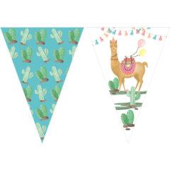 Llama - Triangle Flag Banner (9 Flags) - 89689