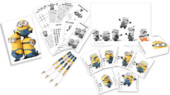 Lovely Minions - Activity Pack