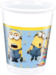 Lovely Minions - Plastic Cups 200ml