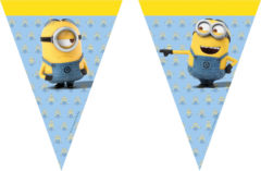 Lovely Minions - Triangle Flag Banner (9 Flags)