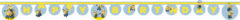 "Lovely Minions - ""happy Birthday"" Die-cut Banner - 87183"