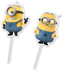 Lovely Minions - Medallion Flexi Drinking Straws