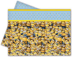 Lovely Minions - Plastic Tablecover 120x180cm