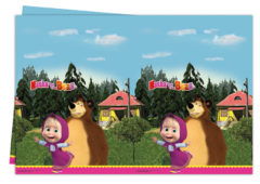Masha And The Bear - Plastic Tablecover 120x180cm