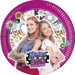 Decorata Party - Maggie & Bianca - Paper Plates Large 23 cm - 89958