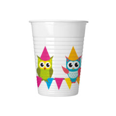 My Best Friend Owl - Plastic Cups 200ml - 89586