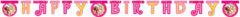 "Mia & Me - ""happy Birthday"" Die-cut Banner - 82489"