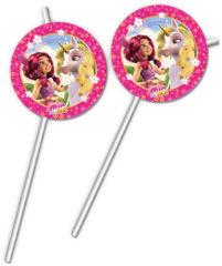 Mia & Me - Medallion Flexi Drinking Straws - 82492